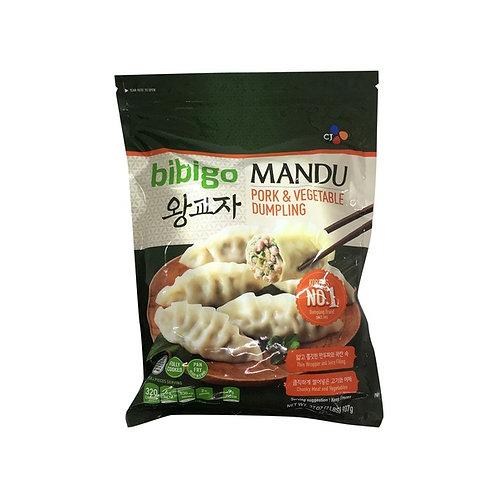 돼지만두 Bibigo Pork & Vegetable Dumpling 680g