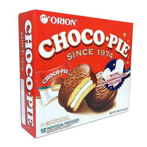 오리온 초코파이 / Choco Pie (12 Individually packed)