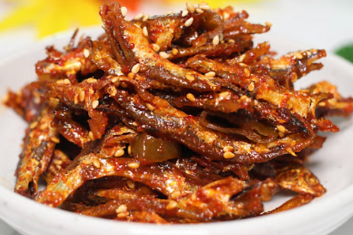 8oz 고추장 멸치 볶음 / Home Made Spicy Stir Fried Anchovy