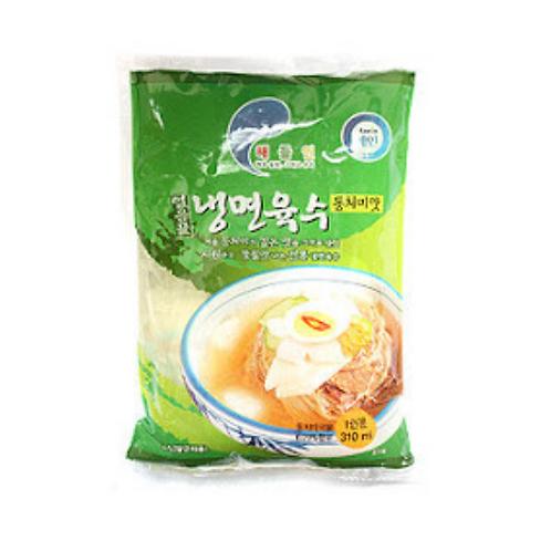 310 mL | 해들인 | 동치미맛 냉면 육수 | Koreantyle Cold Noodleoup | 5 Packs | 5 Servings