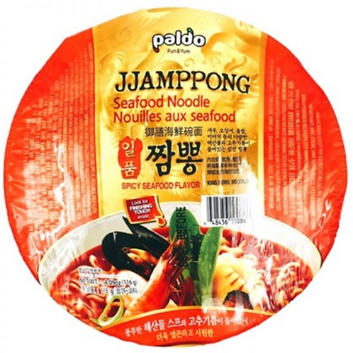 114g 짬뽕 / Jjamppong Seafood Noodle
