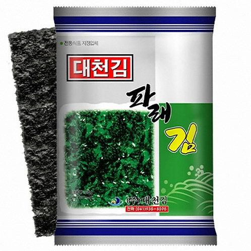 20g (4Pack) 대천김 파래김/ Seasoned Seaweed Laver (Parae)