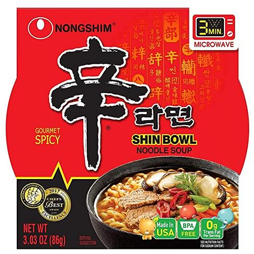 75g 신라면 /  Shin Bowl Noodle Soup