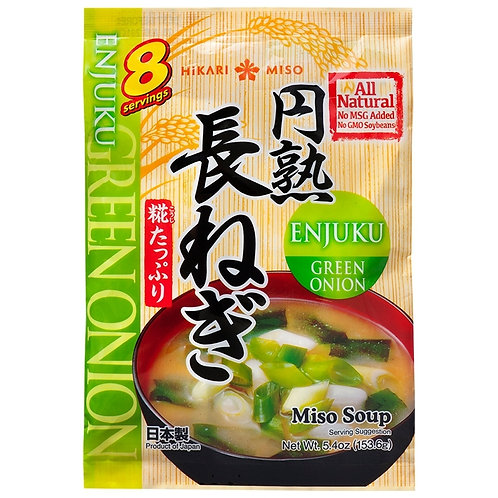 153.6g Enjuku Green Onion Miso Soup