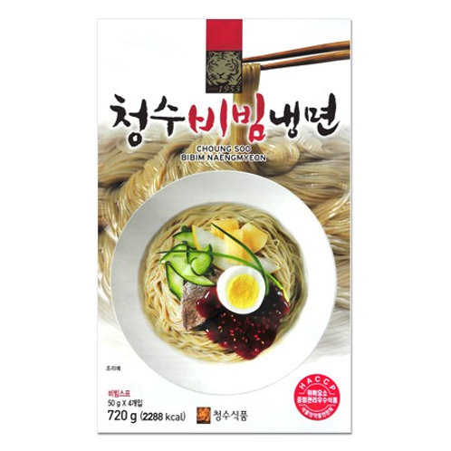720g 청수 비빔냉면 / Korean Style Cold Spicy Noodle