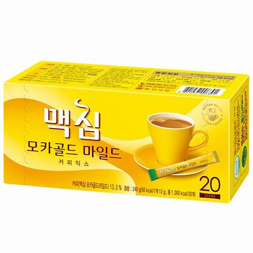 236g 20Sticks 맥심 모카골드 마일드  커피믹스/ Maxim Mocha Gold MildCoffee Mix