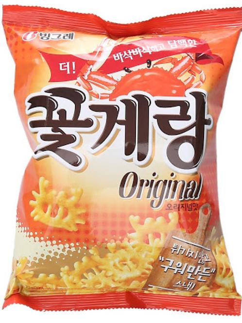 70 g   빙그레   꽃게랑   Crab Chips