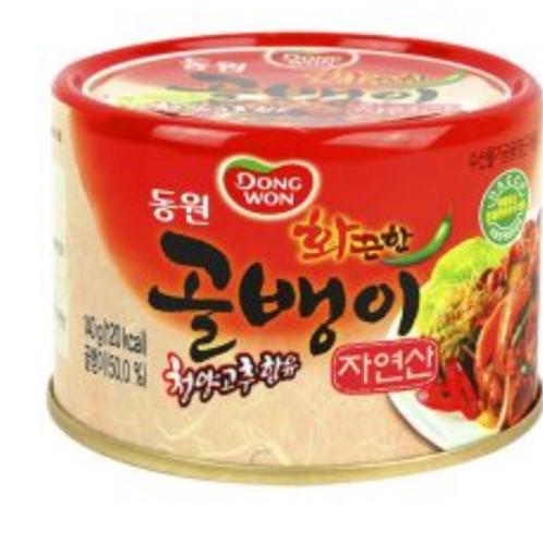 140g 자연 화끈 골뱅이 / Spicy Wild Welk