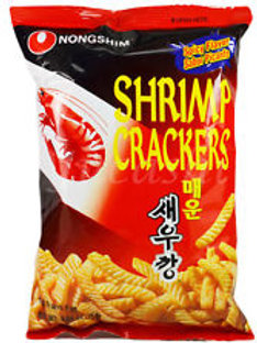 매운 새우깡 / Spicy Shrimp Cracker