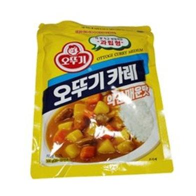 100g 오뚜기 카레 약간 매운맛/Korean Yellow Curry Powder (Little Spicy)