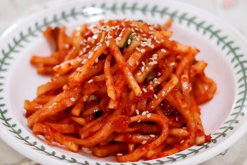 8oz 무생채 / Home Made Korean Shredded Radish Kimchi