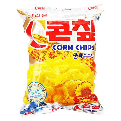 군옥수수맛 콘칩 Corn Chip Roasted Corn Flavor