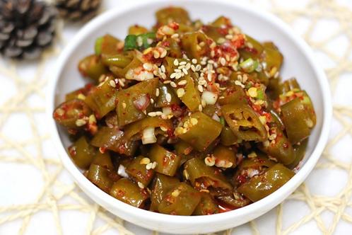 8oz 고추무침 / Home Made Seasoned Green Pepper