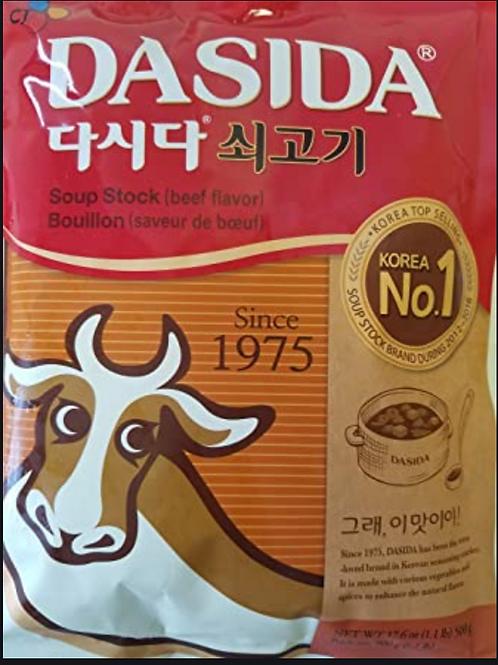 1kg 쇠고기 진한다시다  / Jinhandasi Soup Stock (artificial beef flavour)