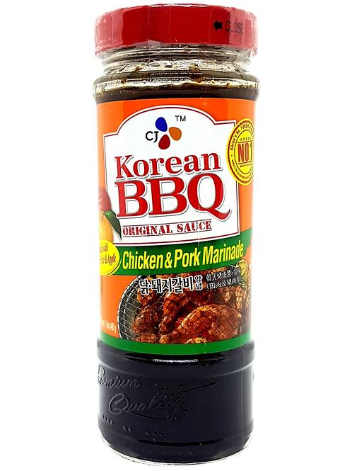 480g 닭 돼지갈비 양념 / Korean BBQ Origianl Sauce