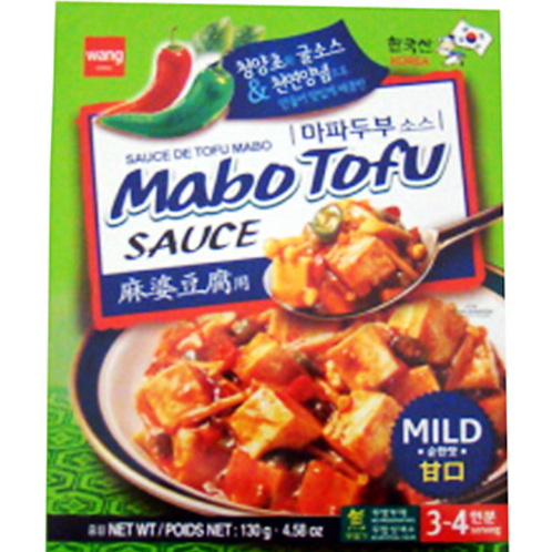 130g 왕 마파두부 소스 / Wang Mabo Tofu Sauce Mild Hot