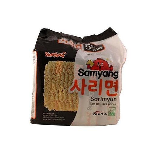 550g 삼양 사리면 5팩/ Samyang Plain Noodle (5Pack)
