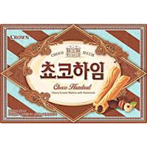 142g 쵸코하임 / Korean Biscuit with Chocolate Hazelnut Cream