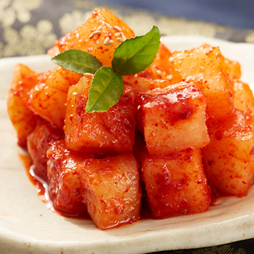 8oz 깍두기 / Home Made Diced Radish Kimchi