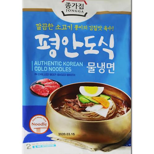 780g 평안도식 물냉면 / Authentic Korean Cold Noodles