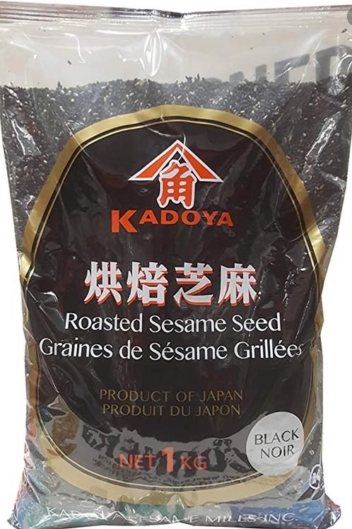 Kadoya Roasted Black Sesame Seed 1kg