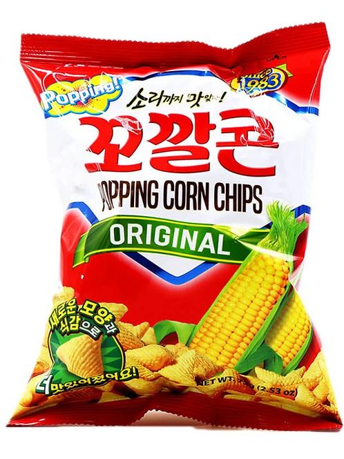144 g | 롯데 | 꼬깔콘 오리지날 | Popping Corn Chips Original