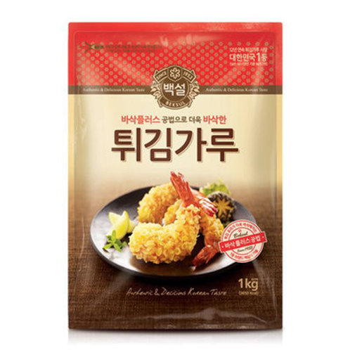 1kg 백설 튀김가루 / Korean Tempura Mix
