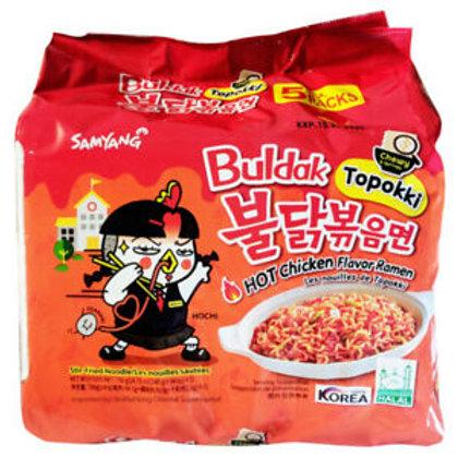 불달볶음면 떡볶이 / Hot Chicken Flavour Ramen Topokki (5Pack)