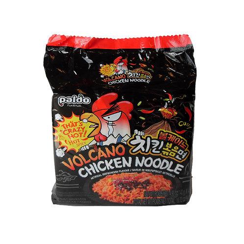 560g 볼케이노 치킨 볶음면 (4팩) / Volcano Chicken Noodle