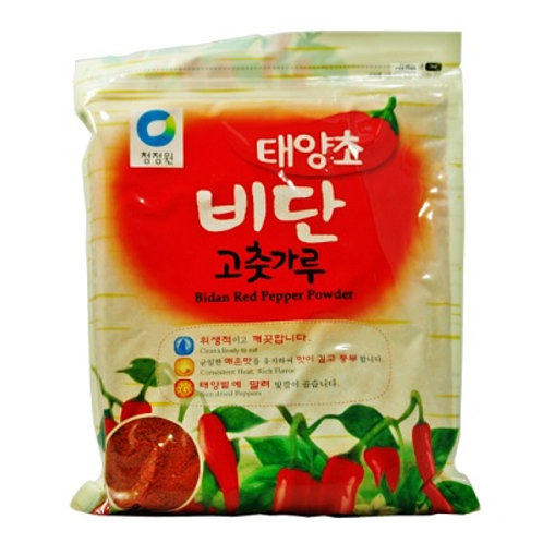 2.27kg 태양초 비단 고추가루 (김치용)/ CJ Korean Bidan Red Pepper Powder (COARSE)