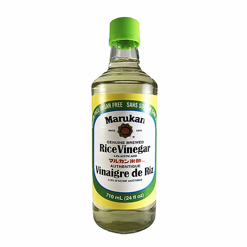 710ml MARUKAN Rice Vinegar (Sodium Free/Sugar Free)