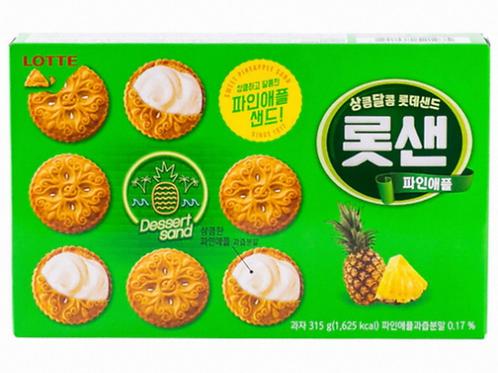 315g 롯샌 파인애플 / Lotte Sand Pineapple