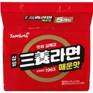 매운 라면 SAMYANG Spicy Ramen s 600g 5Packs