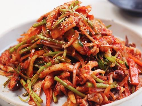 오징어 무침 | Spicy Squid Salad | 8 oz
