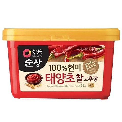 3kg 순창 100%현미 태양초 찰 고추장 / Spicy Hot Pepper Paste (with Brown Rice)
