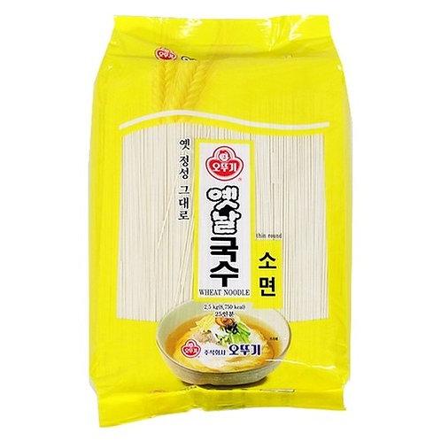 국수 소면 KoreanWheat Noodle Janchi Guksu 2.5kg 2Servings