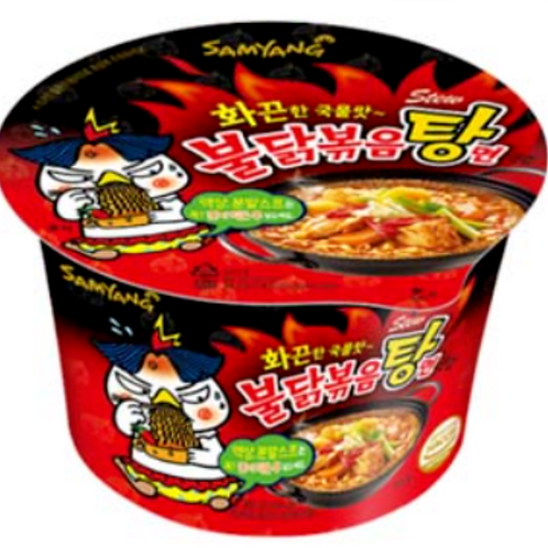 105g 삼양불닭볶음탕면 / Spicy Chicken Roasted Stew Cup Noodles