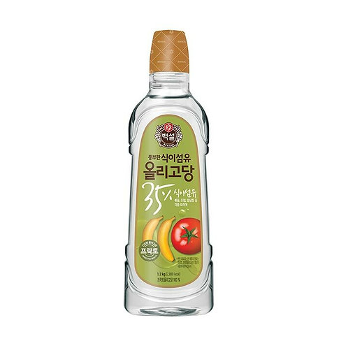 1.2kg 백설 올리고당/ Korean Sweet Syrup
