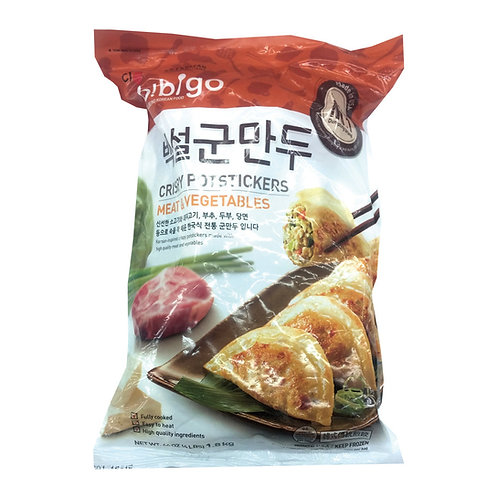 907g 비비고 백설 군만두 / Bibigo Fried Dumplings