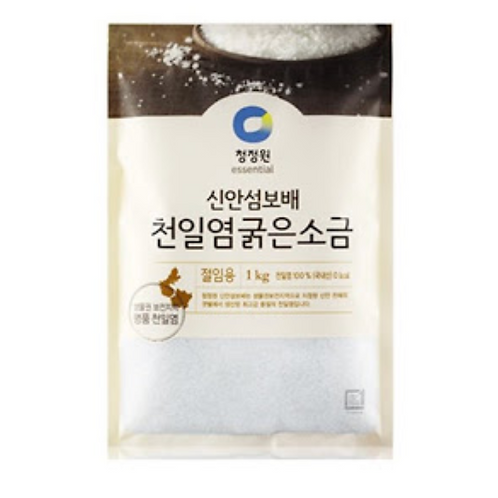 1kg 천일염 굵은소금 / Coarse Salt