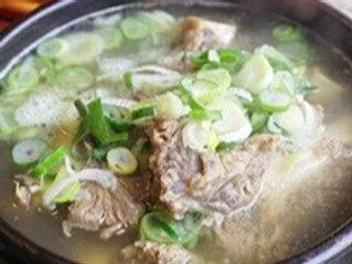 갈비탕 Galbi-tang 牛排骨汤 2Servings