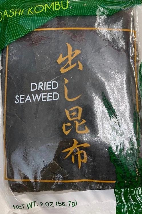 56.7g WelPac Dashi Kombu Dried Seaweed