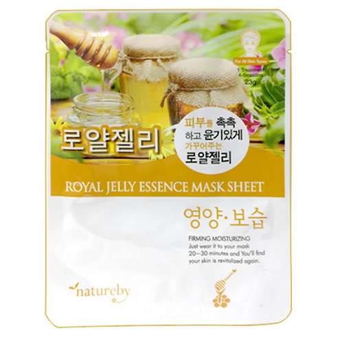 23g x 10 로얄젤리팩/ Royal Jelly Essence Mask Sheet