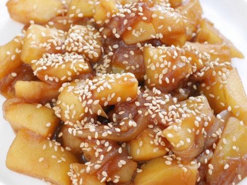감자조림   Soy Sauce Braised Potatoes   酱土豆   8 oz