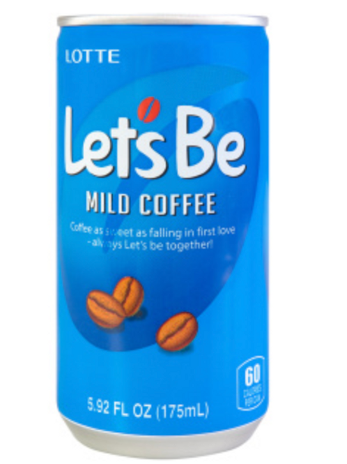 175mL 레쓰비 / Let's Be Mild Coffee