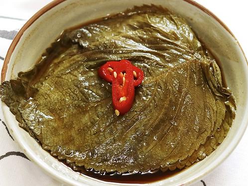 12oz 꺳잎 짱아치 / Home Made Pickled Sesame Leaves