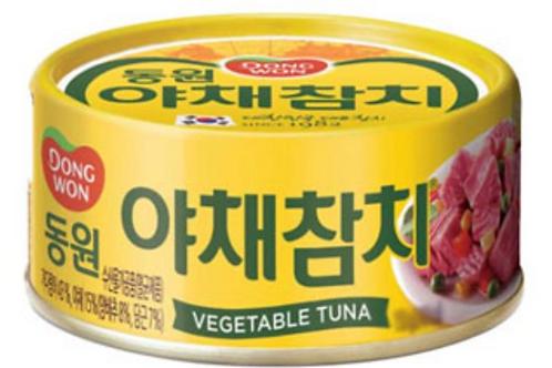 100 g | 동원 | 야채참치 | Vegetable Tuna