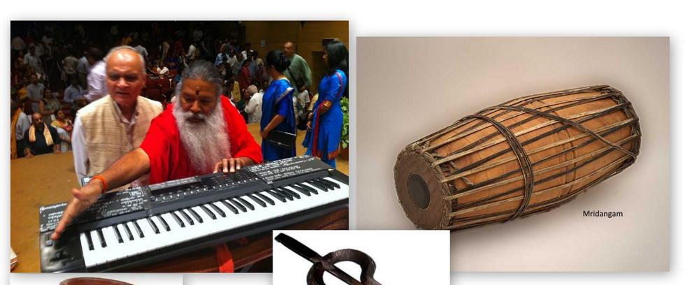 klassichen indischen instrumenten