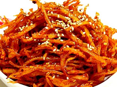 8oz 오징어 채무침 / Home Made Korean Spicy Squid Strip