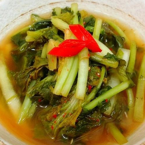 열무 얼갈이 물김치 2lb [토론토] winter-grown water radish kimchi